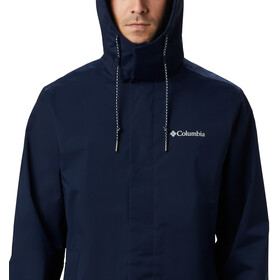 Columbia East Park Mackintosh Chaqueta Hombre, collegiate navy